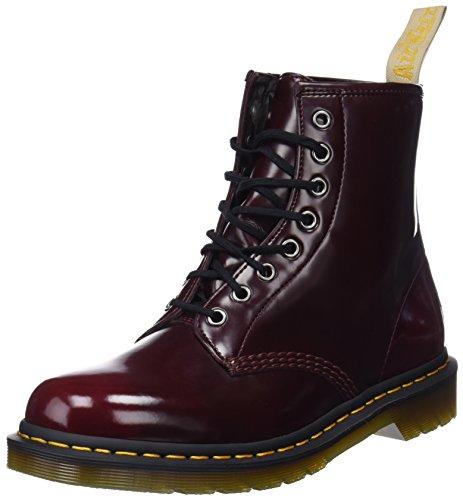 Dr. Martens Unisex-Erwachsene Vegan 1460 Klassische Stiefel, Rot (Cherry Red 600), 44 EU