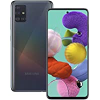Samsung Galaxy A51 Mobile Phone; Sim Free Smartphone - Prism Crush Black (UK Version)