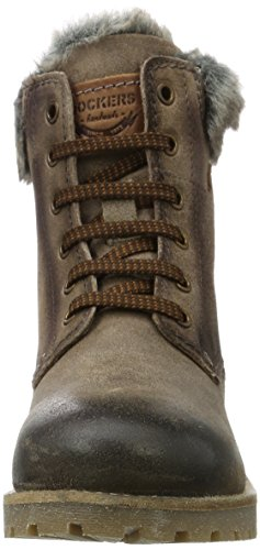 Boots Femme 41hl301 Dockers 240 Gerli Gris By taupe Desert wYXRAOxaq