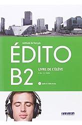 Descargar gratis EDITO B2 ELEVE+CD+DVD - 9788490492055 en .epub, .pdf o .mobi