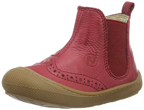 Naturino Unisex-Kinder 4153 Chelsea Boots Rot