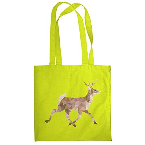 Texlab–Poly Deer–sacchetto di stoffa Gelb