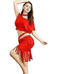 ROYAL SMEELA Tops de Falda de Danza del Vientre para Mujeres Traje de Danza  del Vientre 0891d6c825d9
