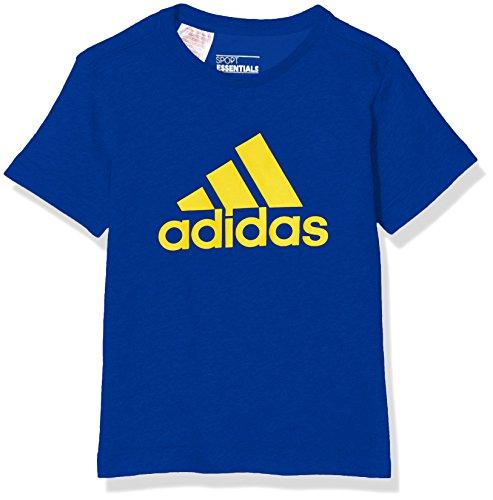 Adidas Yb Ess Logo Maglietta Blu (Reauni/Eqtama)