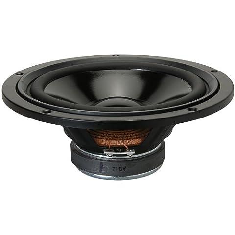 Visaton VS-W200S/8 - Altavoces (20,32 cm (8), 20 cm, Papel, 75W, 115W, 33 - 6000 Hz) Negro