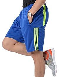 Yying Hombre Pantalón Corto Pantalones Deportivos Fitness Bolsillos Pantalón  Corto Deporte Respirable Holgado Shorts Running Shorts f83d598172d4