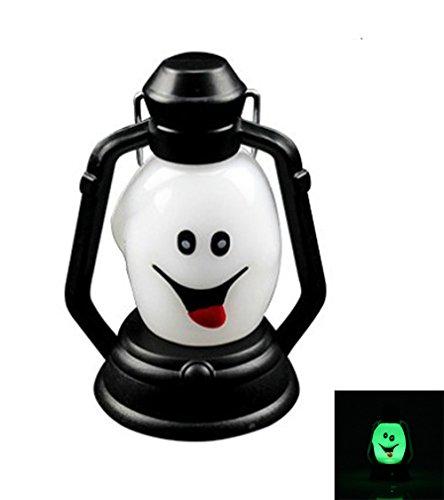 hbirnen, Haus Glühbirnen, Grimasse New Halloween Lampe Tragbare Hängeleuchte Scary Horror Bunte LED Laterne Feuerzeug Halloween Dekorationen (1 STÜCKE) Glühbirnen (Scary Halloween Haus Dekoration)
