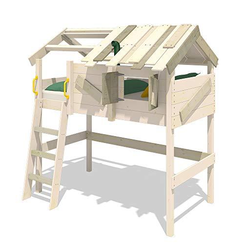 WICKEY Kinderbett 'CrAzY Cove' - Hochbett - Spielbett - 90x200 cm