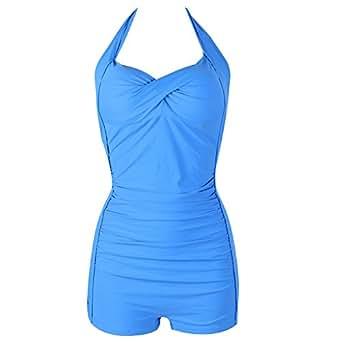 feelingirl maillot de bain femme 1 pi ce monokini amincissant bikini sexy transparent grande. Black Bedroom Furniture Sets. Home Design Ideas