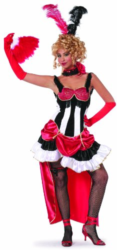 Angel Air Für Erwachsene Force Kostüm - Damenkostüm Can Can, Gr. 38