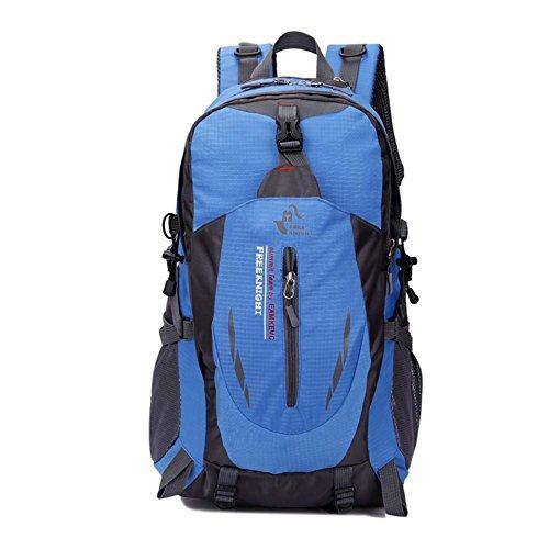 Imagen de huntvp  de alpinismo  deportiva gran  impermeable 40l para las actividades aire libre, senderismo, caza ,viajar, color azul