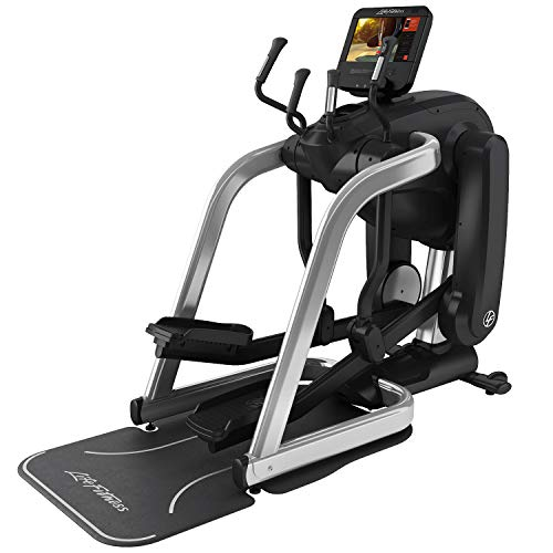 Life Fitness Elevation Series FlexStrider with SE3HD Console - Arctic Silver
