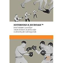 Carnet Ligné B5 Notebooks & Journals, Boxe (Collection Vintage), Extra Large: Couverture souple (17.78 x 25.4 cm)(Carnet de Notes, Carnet de Voyage, Cahier de Texte)