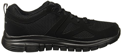 Skechers Baskets Burns Agoura pour homme Schwarz