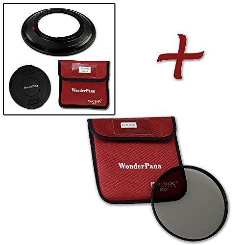 WonderPana 145 Essentials Kit - 145mm Filter Holder, Lens Cap and CPL Filter for the Canon 17mm TS-E Super Wide Tilt/Shift f/4L (Full Frame 35mm) Lens Cap Kit