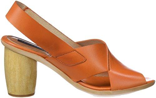 ... Neosens Damen S628 Restored Skin Carrot/MULATA Peeptoe Sandalen Orange ( Carrot)