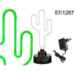 Lámpara de neón Cactus–40cm ~