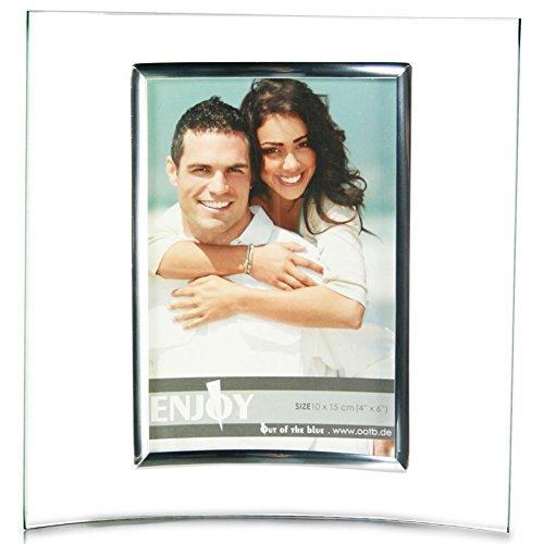 HC-Handel 911190 Bilderrahmen aus Glas 10 x 15 cm (Bilderrahmen Dekorieren)