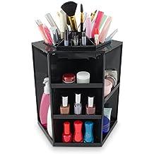 VENKON - Make Up Organizzatore Scatola di Ordinamento per Stoccaggio di Cosmetici - Ruota di (Titolare Di Pennelli Di Trucco)