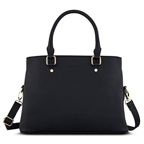 Handtasche Damen Schwarz - Expatrié