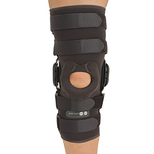 81d8ddfafa Ossur Rebound Knee Brace, ROM Hinge Sleeve Long -Large by Ossur