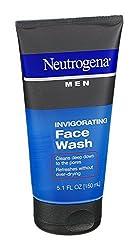 Pack of 12 : Neutrogena Men Invigorating Face Wash, 5.1 Fluid Ounce -- 12 per case