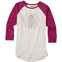 Burton Twangy Raglan Camiseta, Mujer, Stout White, S