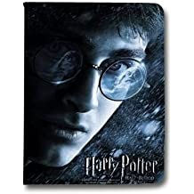 Leather flip Case carcasa iPad Air 2 WB License harry potter B - prince visage N