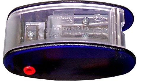 as2m (1053121), lange Point Spitzer, schärft in 2Stufen; 2Ersatzklingen inkl.. Mit Leine Signale für 2mm und 3,2mm. Blau nur