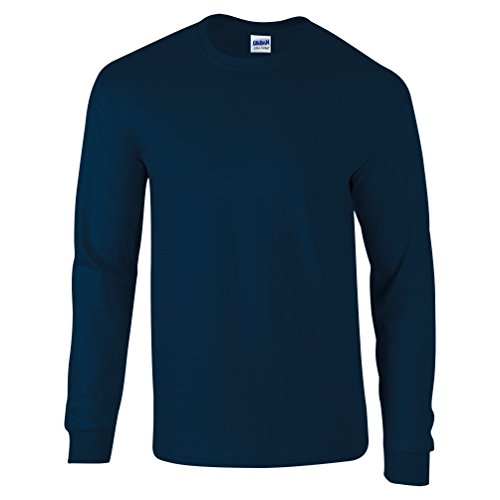 Baumwolle Ringer T-shirt (Ultra Cotton Classic Fit Adult T-Shirt - Farbe: Navy - Größe: XL)