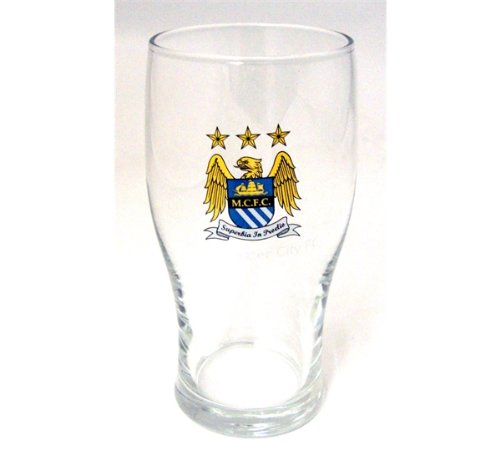 Manchester City Pint Bierglas