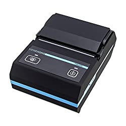 New Akira Portable 58mm Bluetooth Thermal Receipt Printer Mobie APP 2D QR Code Receipt Printer for smart Phone