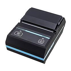 New Akira Portable 58mm Bluetooth Thermal Receipt Printer Mobie APP 2D QR Code Receipt Printer for smart Phone