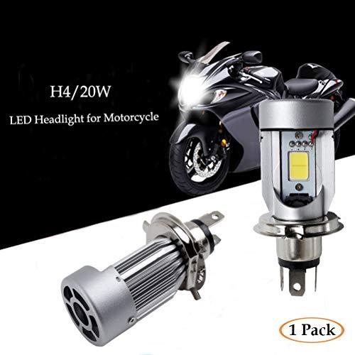 WLJH 2/pcs H4/Moto Phare LED Ampoules 3030/Chipset haute faible Faisceau Moto Scooter Moto lumi/ères LED Ampoule Lampe pour Suzuki Honda Yamaha Harley
