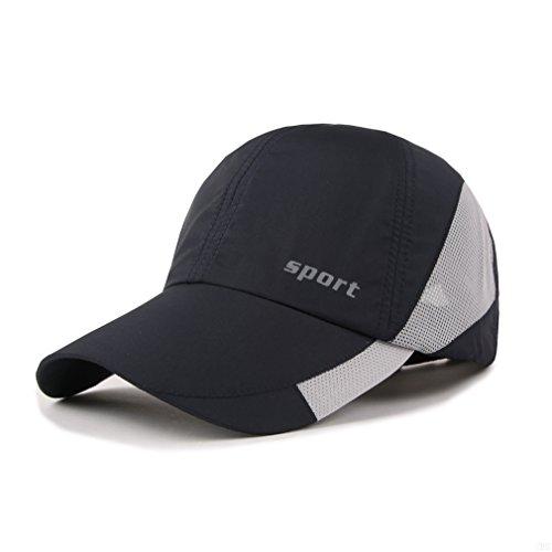 Lightweight Run Baseball Hat Outdoor Sport cap (Sport Series, Navy)