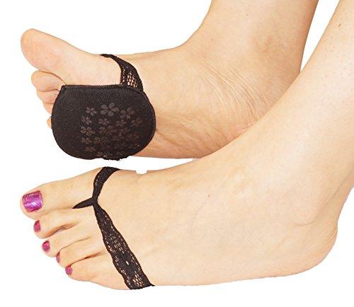 piedi pastiglie delle donne merletto di modo ammortizzata pad sottopiede