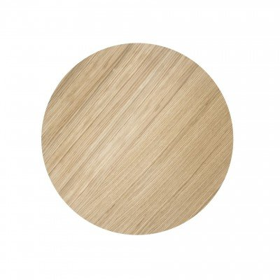 Ferm Living Wire Basket Top Oiled oak - Small - Ø40 cm