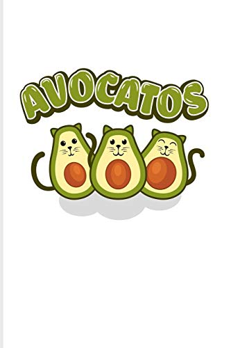 Avocatos: Funny Vegetables Puns 2020 Planner | Weekly & Monthly Pocket Calendar | 6x9 Softcover Organizer | For Cute Cats & Vegan Cooking Fans