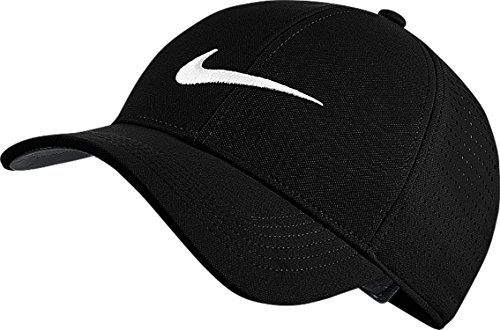 Nike Unisex Legacy91 Perforated Cap, Black/Anthracite/White, One Size