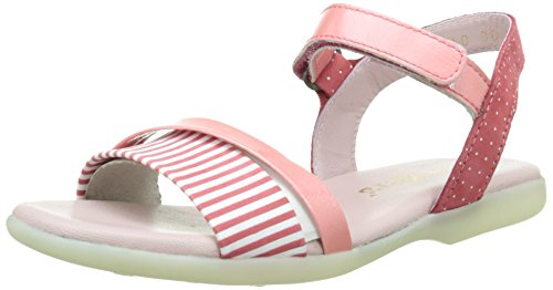 Kickers Anyway, Sandales fille Rose