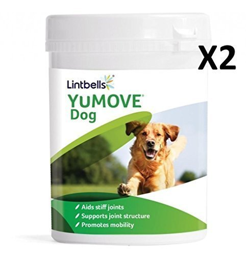 Yumove Lintbells Dog Joint Supplement for Stiff and Older Dogs – 600 (2x 300) Tablets