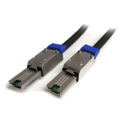 STARTECH.COM StarTech SAS Kabel extern SFF-8088 to SFF-8088 Mini SAS Kabel (26pin) 1m Anschlusskabel - 2 x SFF-8088 (26pin Mini SAS) Plug