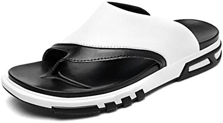 Zapatos de Hombre Chancletas de Cuero Primavera/Verano Zapatos de Hombre Comfort/Leisure Chanclas/Sandalias para  -