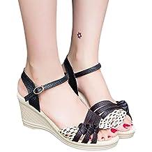 CLEARANCE SALE! MEIbax Damen Damen Keile Schuhe Sommer Sandalen Plateau Toe High Heels