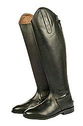 HKM Reitstiefel -Italy-,Soft Leder, normal/extra weit, schwarz, 44