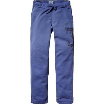 Scotch Shrunk Jungen Hose 13410183500 - basic sweat pants, Gr. 116 (6), Mehrfarbig (48 - denim blue)