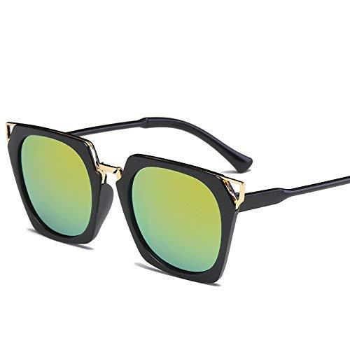 HeiPlaine Schutz Sonnenbrillen Platz Sonnenbrille Frauen männer Fahren 2017 männliche luxusmarke Sonnenbrille für Frauen Designer cool Shades Spiegel Retro Gläser Fahren (Farbe : JH15709 C7)