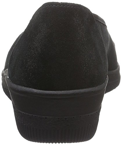 Gabor Shoes Comfort Basic, Mocassini Donna Nero (Schwarz 97)