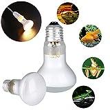 JWBOSS Tag Licht E27 UVA Wärme Spot Lampe Sun Glow Heizung für Reptil Tier Krankenschwester - 75 Watt