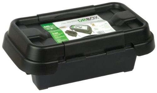 Dribox Wetterfeste Box Anschlußkasten für elektrische Geräte und Kabeln, IP55, schwarz, FL-1859-200
